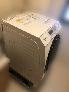 新宿区にて パナソニック ドラム洗濯乾燥機 NA-VX8600R を出張買取致しました