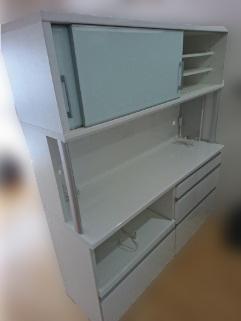 葛飾区にて 太陽家具 食器棚 を出張買取致しました
