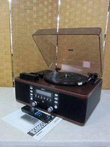 TEAC ターンテーブル カセット付きCDレコーダー LP-R550USB