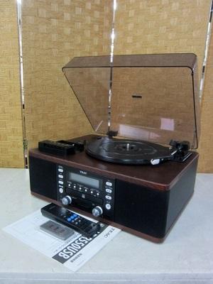 座間市にて TEAC カセット付きCDレコーダー LP-R550USB を出張買取致しました