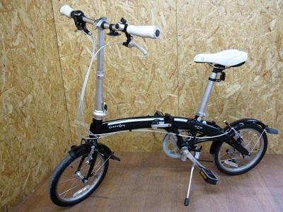 川崎市にて ダホン curve D7 折りたたみ自転車 を出張買取致しました