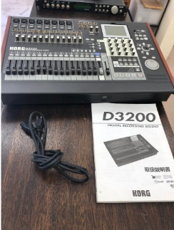 大和市にて KORG マルチトラックレコーダー D3200 を店頭買取致しました