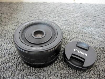 八王子市にて キャノン カメラレンズ 単焦点 EF-M を出張買取致しました