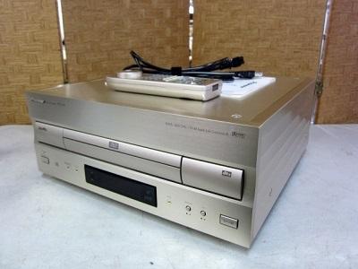 大和市にて パイオニア DVD LD コンパチブルプレーヤー DVL-H9 を店頭買取致しました