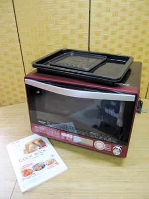 横浜市西区にて シャープ 加熱水蒸気オーブンレンジ RE-SS10C-R を出張買取致しました
