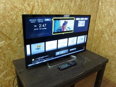 台東区にて シャープ AQUOS 液晶テレビ LC-32W25 を出張買取致しました