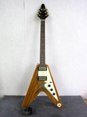 横浜市西区にて エピフォン korina FLying V エレキギター を出張買取致しました