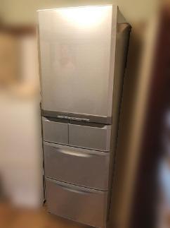 国立市にて 三菱 冷凍冷蔵庫 MR-B42Y を出張買取致しました