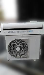 八王子市にて 東芝 エアコン RAS-4055RJ を出張買取致しました