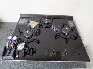 クリナップ LPガス ビルトインガスコンロ ZGDRL6A18NGK