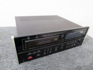McIntosh CDプレーヤー MCD7007 第3世代機 アルミダイカストベース