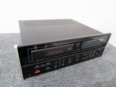 小平市にて McIntosh CDプレーヤー MCD7007 第3世代機 を店頭買取致しました