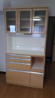 三鷹市にて 河口家具 レンジボード W100 を出張買取致しました