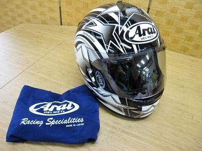 小平市にて アライ ベクター トルネード ヘルメット を店頭買取致しました