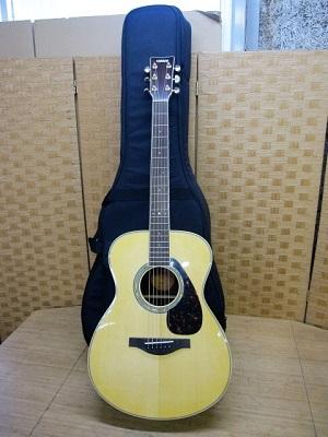 府中市にて ヤマハ アコースティックギター LS6 を出張買取致しました