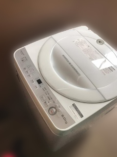 大和市にて シャープ 全自動洗濯機 ES-GE6B を出張買取致しました