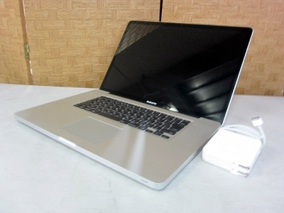 大和市にて Apple MacBook Pro 17-inch, Mid 2009 を店頭買取致しました