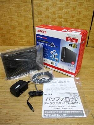 小平市にて BUFFALO LinkStation NAS 2TB LS510D0201G を店頭買取致しました