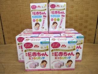 座間市にて 森永 粉ミルク はぐくみ E赤ちゃん を店頭買取致しました