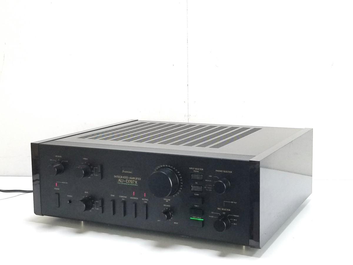 鎌倉市にてSANSUI AU-D707X プリメインアンプを出張買取しました
