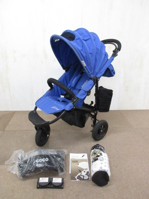 藤沢市よりAIR BUGGY COCO エアバギーココ ブレーキ付属品多数を店頭買取しました