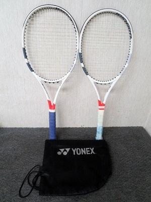 八王子市にて バボラ ピュアストライク テニスラケット 2点 を店頭買取致しました