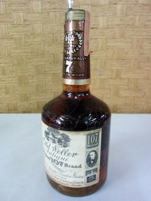 世田谷区にて オールドウェラー アンティーク107 バーボンを出張買取致しました