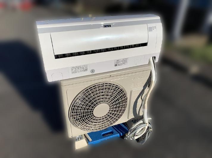 相模原市にて 日立 エアコン RAS-WBK22F を出張買取致しました