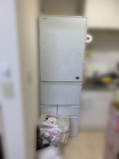 日野市にて 東芝 冷凍冷蔵庫 GR-J43GXVL(ZW) を出張買取致しました