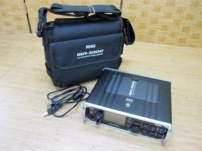 稲城市にて KORG モバイルレコーダー MR-1000 を出張買取致しました