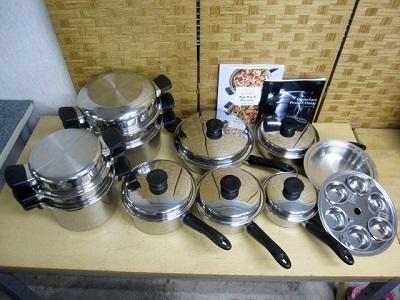 アムウェイ クイーンクック 24ピースセット 鍋 フライパン ソースパン