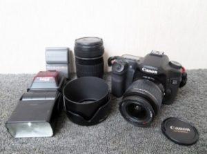 キャノン デジタル一眼カメラ レンズセット EOS40D