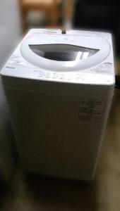東芝 全自動洗濯機 AW-5G6