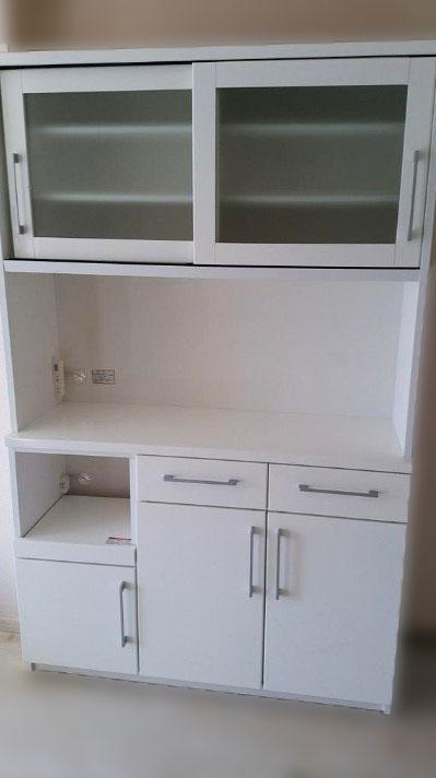 西東京市にて ニトリ 食器棚 W100 を出張買取致しました