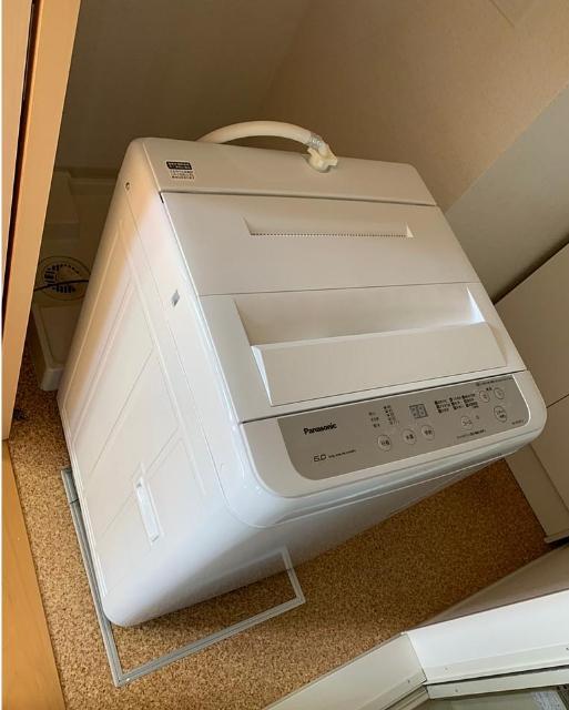 福生市にて 洗濯機 パナソニック NA-F60B13 2019年製 を出張買取致しました