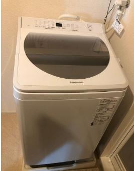 綾瀬市にて 洗濯機  パナソニック NA-FA80H7 2019年製 を出張買取致しました
