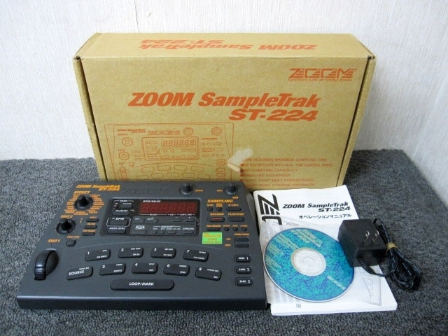 ZOOM SampleTrack ST-224 サンプラー