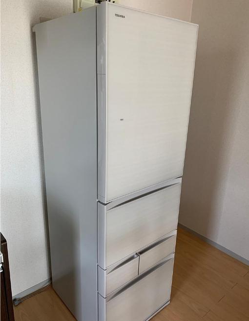 冷蔵庫 東芝 GR-P41GXV 2019年製