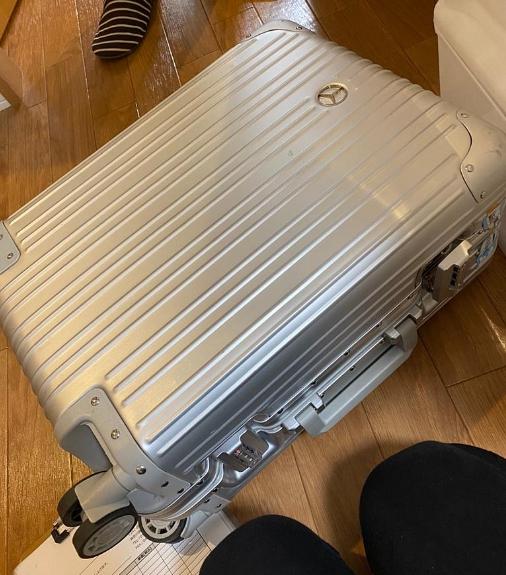 大和市にて ベンツ キャリーケース を出張買取致しました