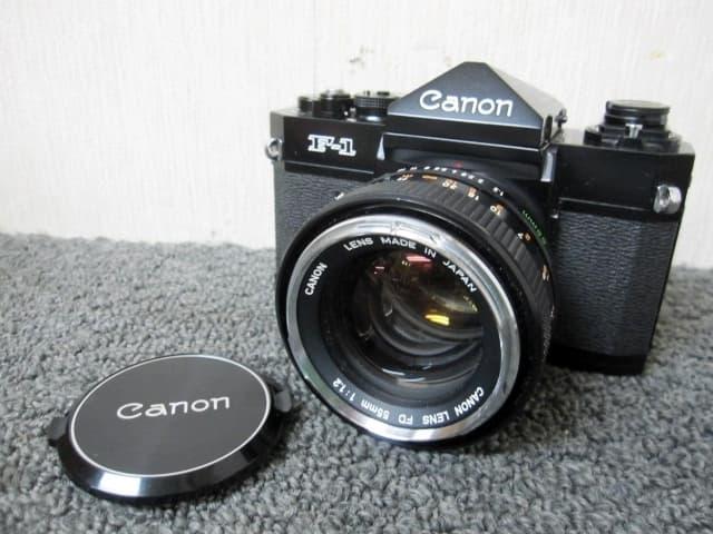成田市にて キャノン フィルムカメラ F-1 レンズ FD  を店頭買取しました