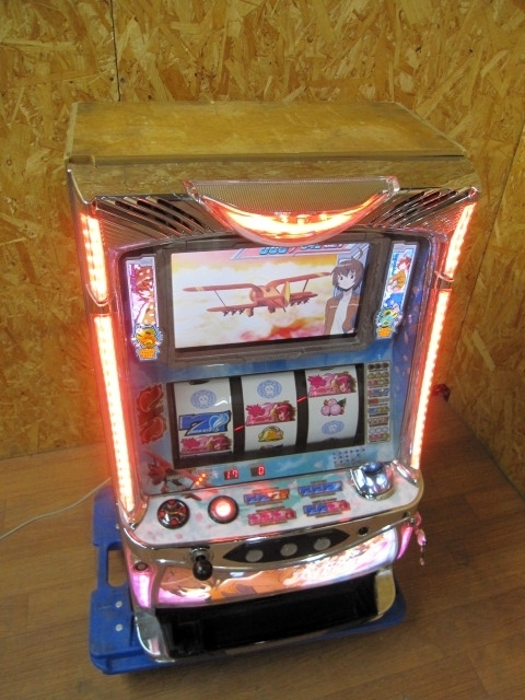 神奈川県相模原市にて パチスロ実機 NET ハーレムエース2  コイン不要機付き を店頭買取しました