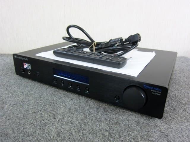 相模原市にてCambridge Audio プリメインアンプ TOPAZ AM10 を出張買取しました