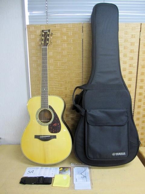 世田谷区にて ヤマハ アコースティックギター LS6 セミハードケース付き を店頭買取致しました。