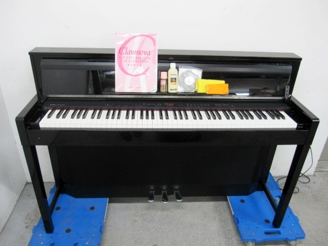 東京都 世田谷区にて ヤマハ グラビノーバ 電子ピアノ CLP-S306PE を出張買取致しました