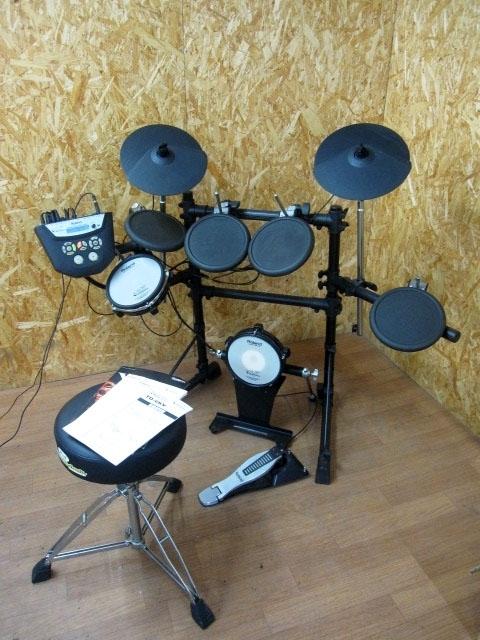 東京都 町田市にて ローランド 電子ドラムセット V-Drums TD-6V を出張買取しました