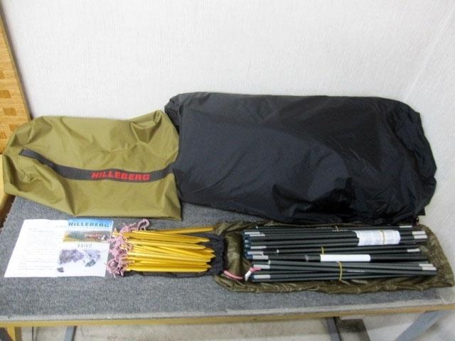 大和市にて HILLEBERG/ヒルバーグ SAIVO/サイボ テント を店頭買取しました