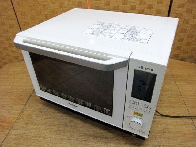 東京都小平市にて パナソニック ビストロ スチームオーブンレンジ NE-BS604-W 2017年製 を店頭買取しました