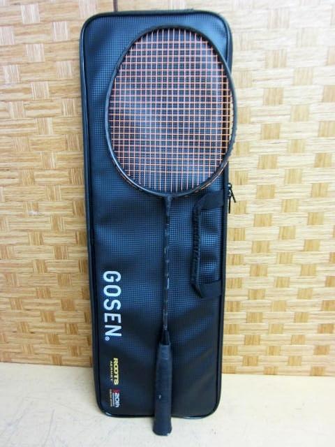 神奈川県 大和市にて ゴーセン ROOTS AERMET CHRONICLE バドミントンラケット を店頭買取しました