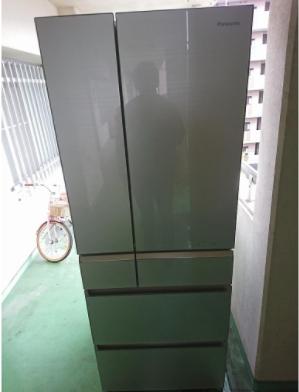 府中市にて 冷蔵庫 パナソニック NR-F511PV 2016年製を出張買取致しました