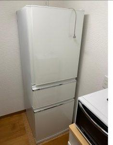 冷蔵庫 三菱 MR-CX33A-W 2016年製